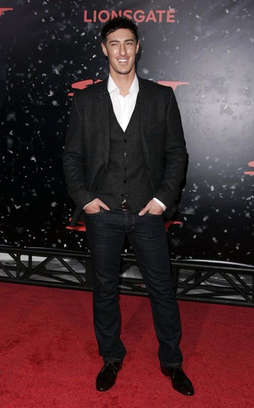 L'attore Eric Balfour alla premiere del film 'The Spirit' a Los Angeles