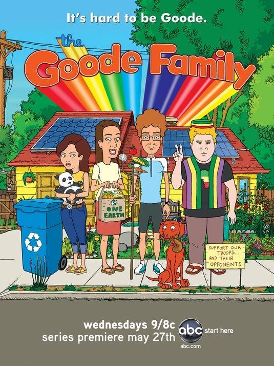 La locandina di The Goode Family