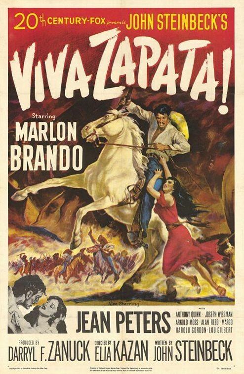 La locandina di Viva Zapata!