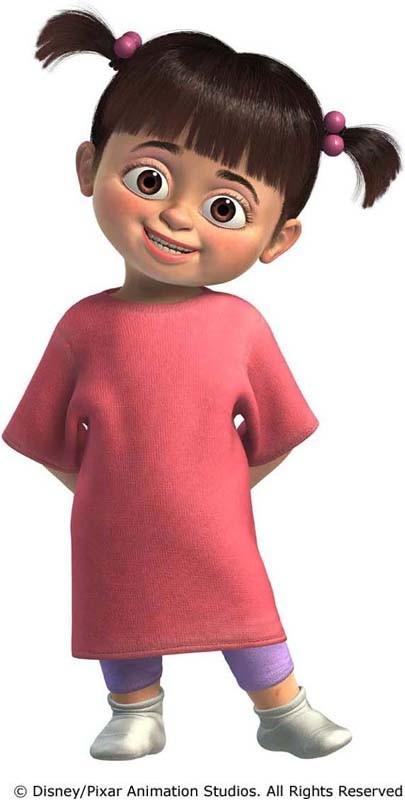 La piccola Boo in un'immagine promozionale di 'Monsters & Co.'