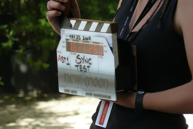 La troupe di Twilight Saga: New Moon al lavoro sul set di Montepulciano.