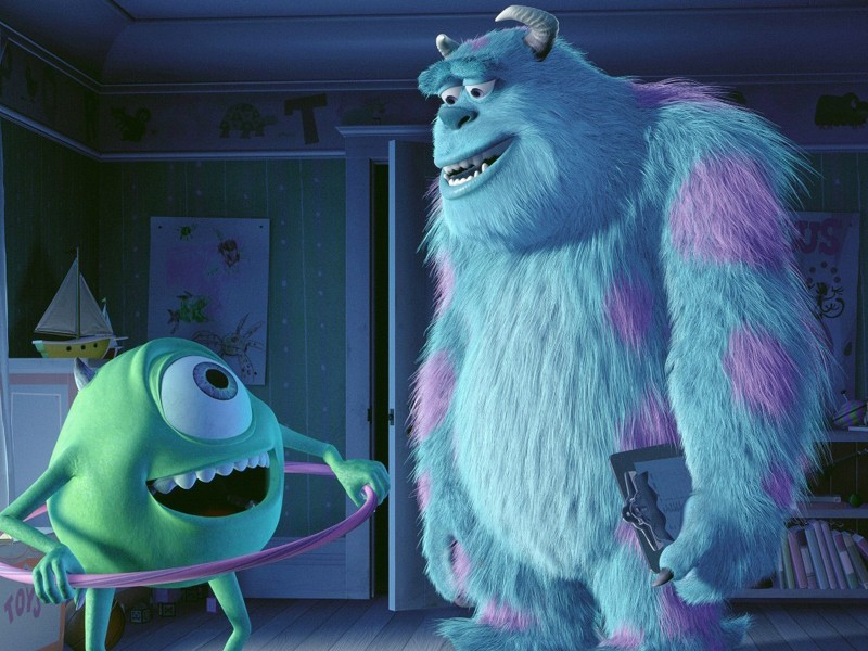 Mike e Sulley, protagonisti di 'Monsters & Co'
