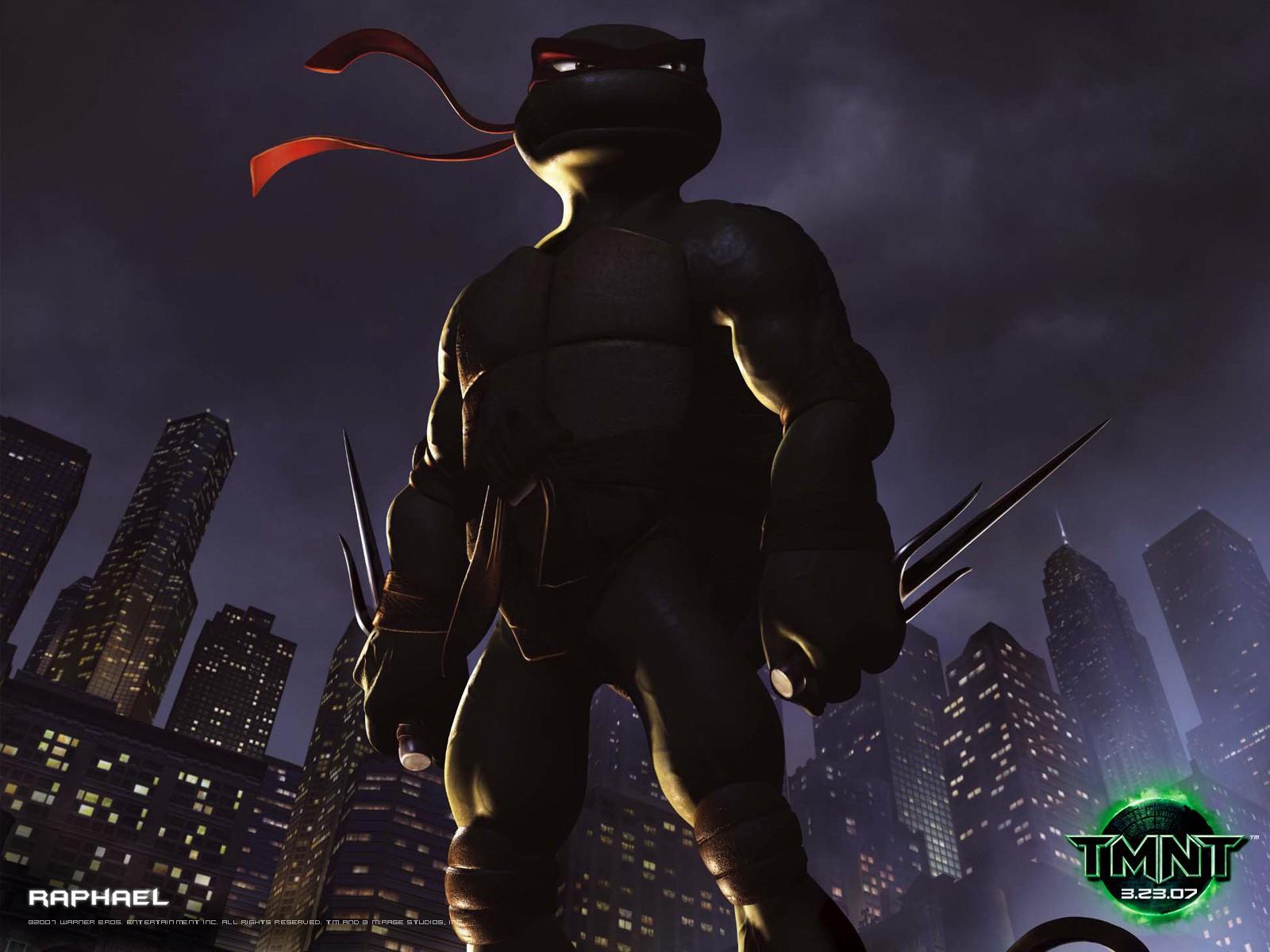 Un wallpaper di Raffaello per il  film 'Teenage Mutant Ninja Turtles Photo'