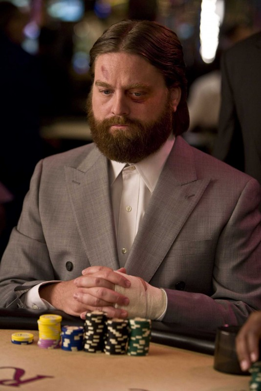 Zach Galifianakis è Alan nel film Una notte da leoni
