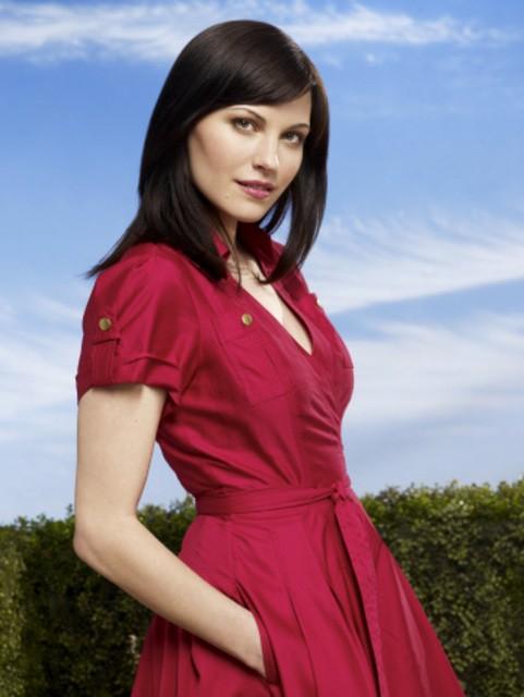 Jill Flint è Jill Casey in una foto promozionale della serie Royal Pains
