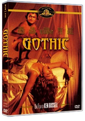 La copertina di Gothic (dvd)