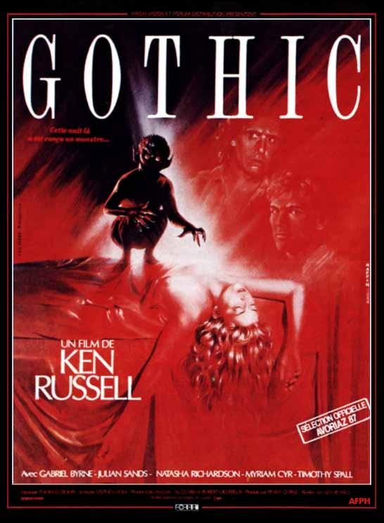 La locandina di Gothic