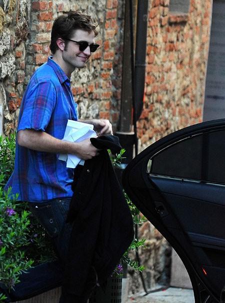 Robert Pattinson a Montepulciano sul di New Moon, secondo capitolo della saga di Twilight