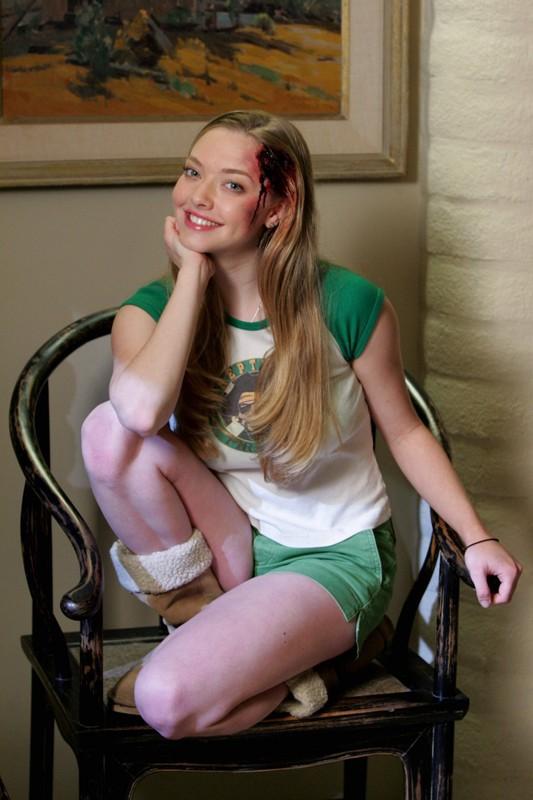 Amanda Seyfried in una foto promozionale per la serie Veronica Mars