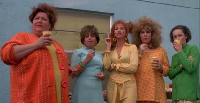 Kathy Baker, Conchata Ferrell, Caroline Aaron, Linda Perri e Susan Blommaert in Edward mani di forbi