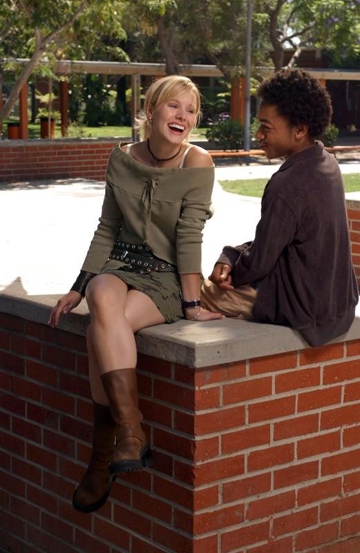 Percy Daggs III e Kristen Bell in una foto promo per la 1 stagione di Veronica Mars