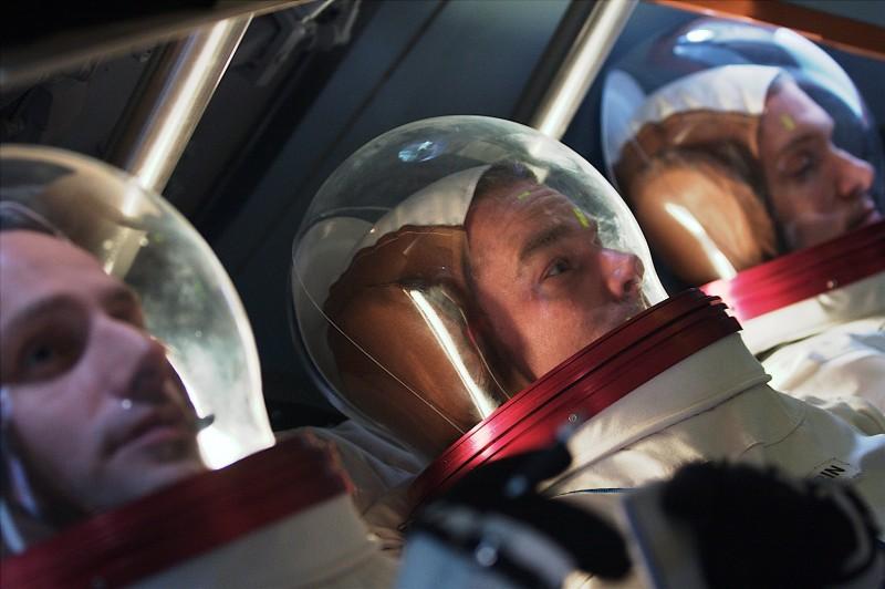 Una scena del film TV Moonshot - L'uomo sulla luna