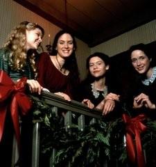 Winona Ryder, Samantha Mathis, Claire Danes e Trini Alvarado in una scena di Piccole donne