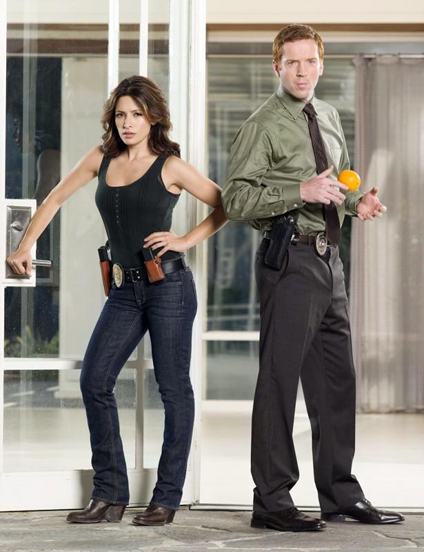 Sarah Shahi e Damian Lewis promo per la serie tv 'Life'