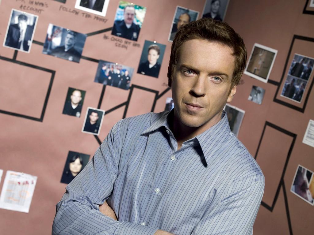 Un wallpaper con Damian Lewis per la serie tv Life