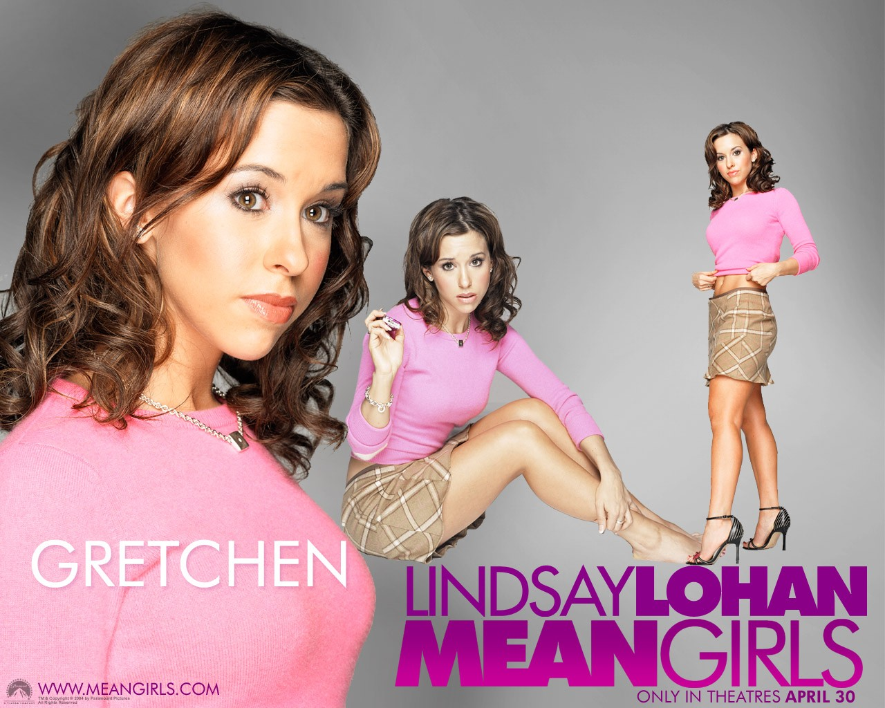 Un wallpaper di Lacey Chabert (Gretchen) per il film Mean girls