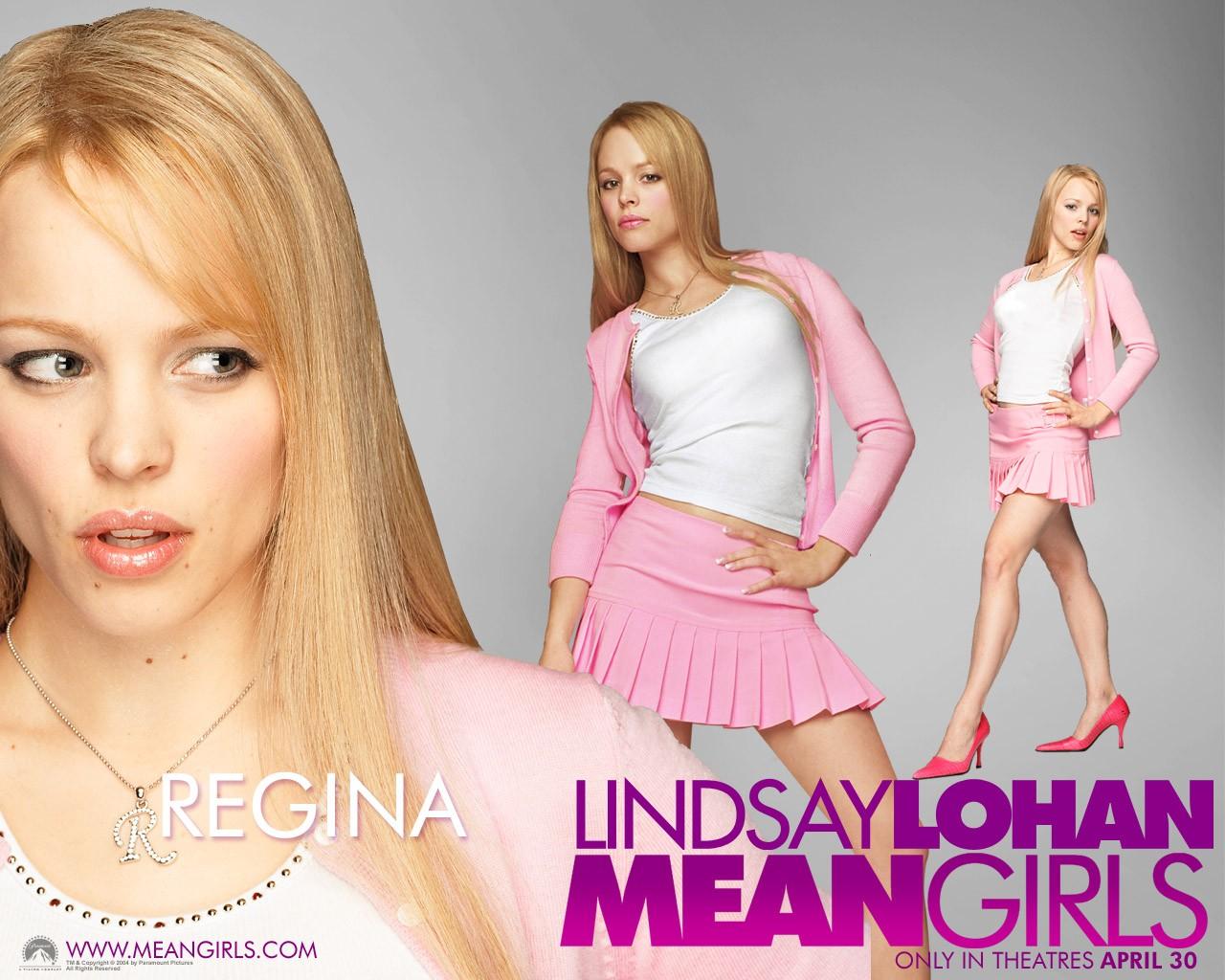 Un wallpaper di Rachel McAdams (Regina) per il film Mean Girls