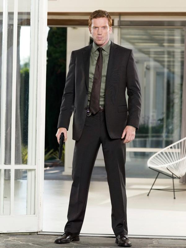 Una foto promozionale di Damian Lewis per la 2 serie di 'Life'