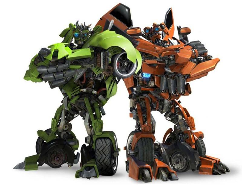 Dalla parte degli Autobots: i gemelli Kid e Mudflap per il film Transformers: Revenge of the Fallen