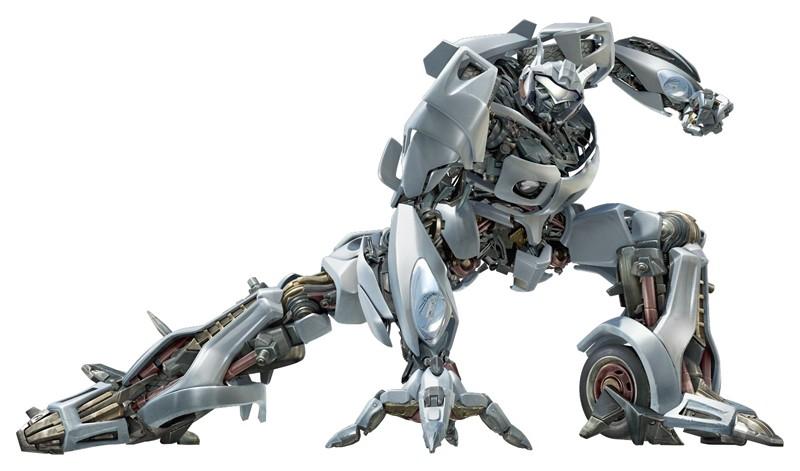 Dalla parte degli Autobots: Jazz, la Pontiac Solstice GXP nel film Transformers
