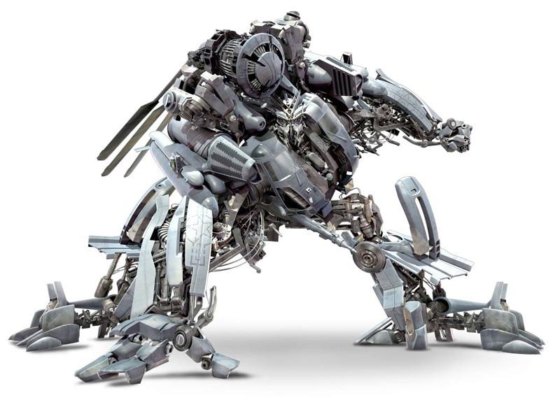 Dalla parte dei Decepticon: Blackout, l'elicottero nel film Transformers