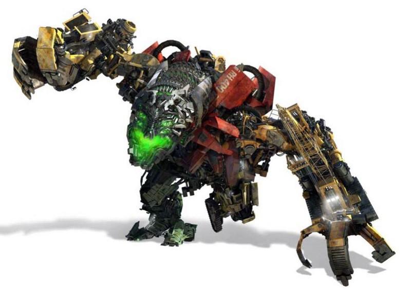 Dalla parte dei Decepticon Devastator, robot gigante composto da: Scavenger, Scrapper, Hightower, Longhaul, Rampage, Overload and Mixmasternel nel film Transformers 2