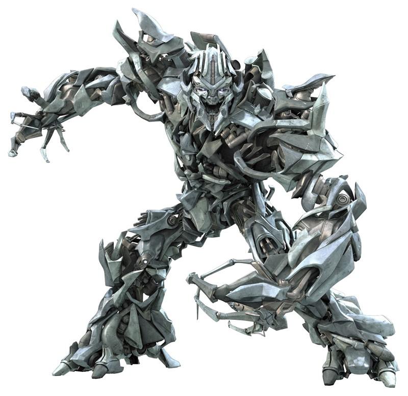 Dalla parte dei Decepticon: il leader dei cattivi Megatron per il film Transformers