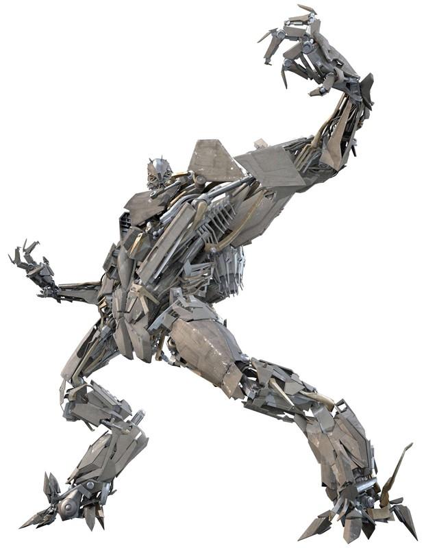 Dalla parte dei Decepticon: Starscream, l'aereo militare stile F15 per il film Transformers