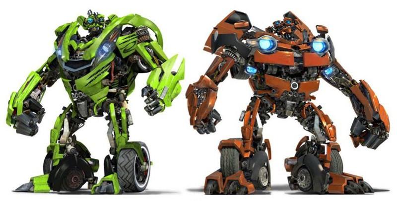 I gemelli Kid e Mudflap: Chevrolet Beat e Trax concept cars per il film Transformers: Revenge of the Fallen