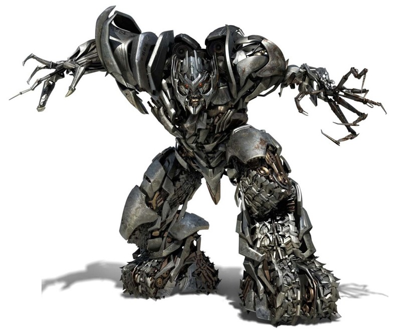 Il Decepticon per eccellenza: Megatron per il film Transformers: Revenge of the Fallen