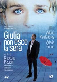La copertina di Giulia non esce la sera (dvd)