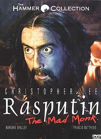 La locandina di Rasputin, il monaco folle
