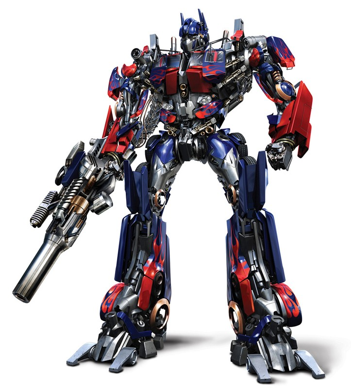Optimus Prime è l'eroico leader degli Autobots nel film Transformers