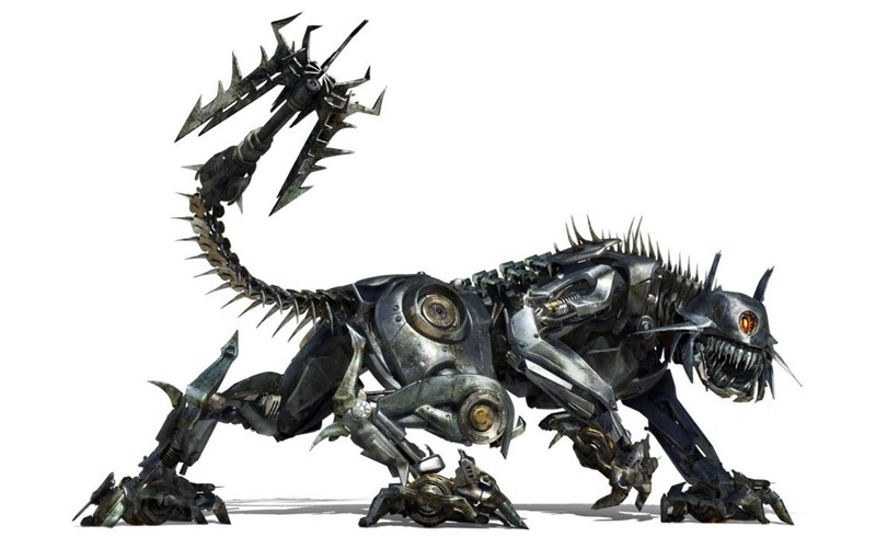 Ravage, è il robot felino dalla parte dei Decepticon nel film Transformers: Revenge of the Fallen
