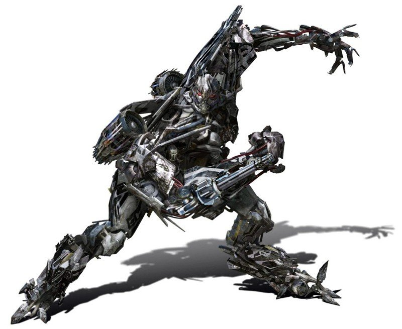 Starscream in un'immagine promo per il film Transformers: Revenge of the Fallen