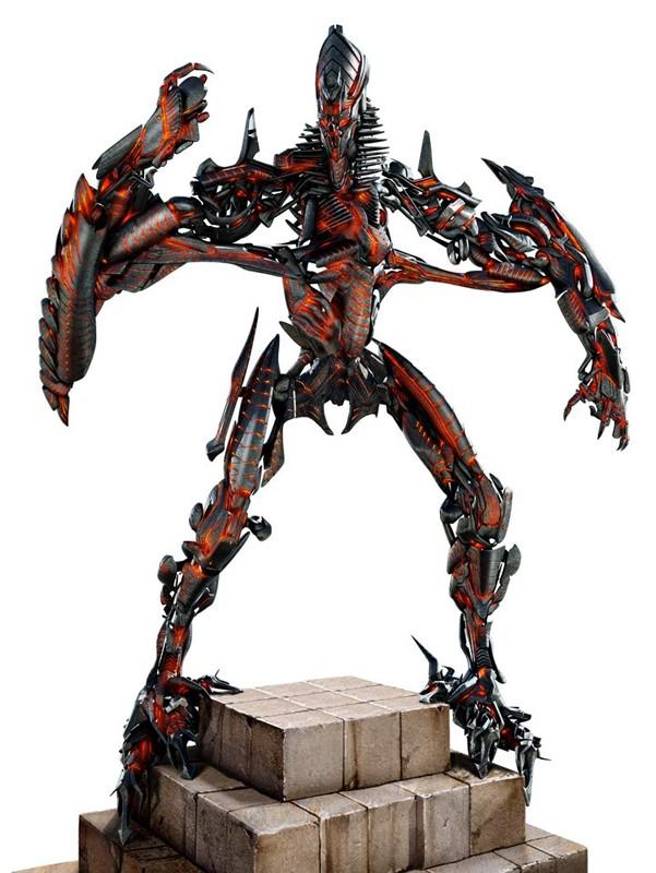 The Fallen, è uno dei Transformer originali, fa parte dei Decepticon nel film Transformers: Revenge of the Fallen