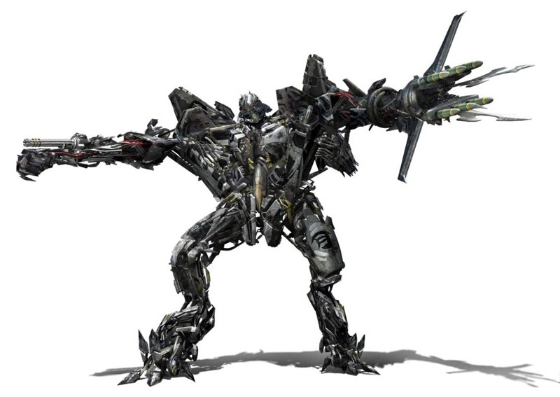 Un'immagine del Decepticon Starscream, in Transformers: Revenge of the Fallen