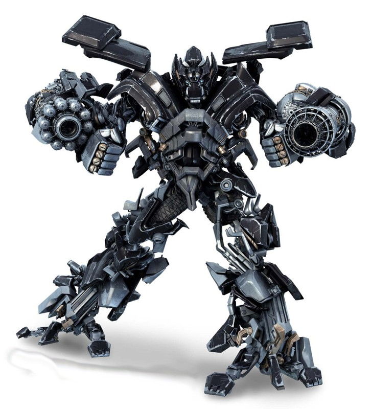 Un'immagine del nuovo Autobots, Ironhide nel film Transformers: Revenge of the Fallen