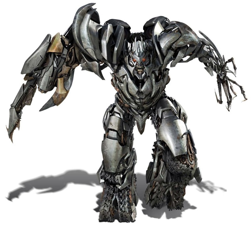 Un'immagine del perfido Megatron per il film Transformers: Revenge of the Fallen