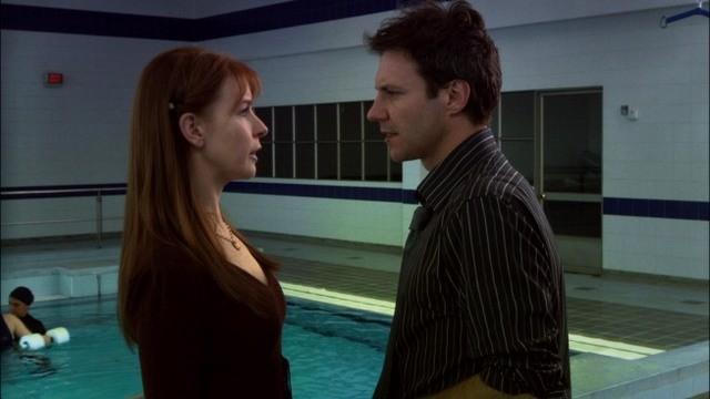 Jacqueline McKenzie e Chris Vance nell'episodio A Beautiful Delusion di Mental