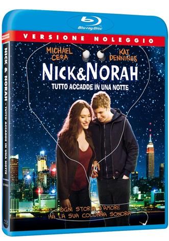 La copertina di Nick & Norah: tutto accadde in una notte (blu-ray)