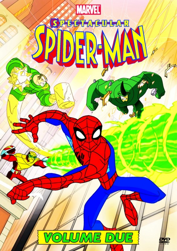 La copertina di Spectacular Spider Man vol 2 (dvd)