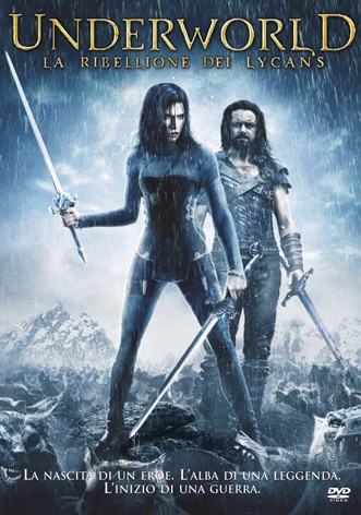 La copertina di Underworld La ribellione dei Lycans (dvd)