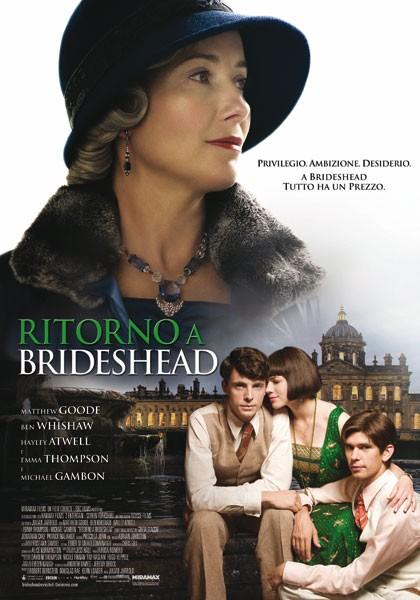 La locandina italiano di Ritorno a Brideshead