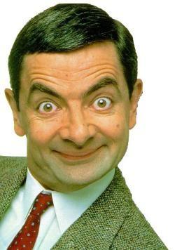 Rowan Atkinson è Mr. Bean, protagonista della spassosa serie televisiva.