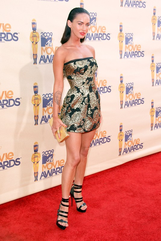 Un'elegante Megan Fox agli MTV Movie Awards 2009