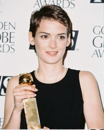 Winona Ryder vincitrice del Golden Globe per il film L\'etàdell\'innocenza