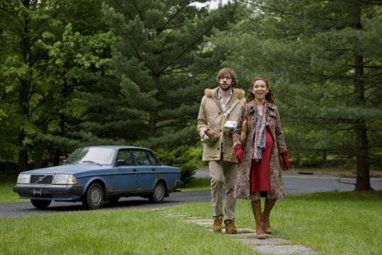 John Krasinski e Maya Rudolph in un'immagine del film Away We Go