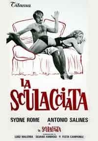 La copertina di La sculacciata (dvd)