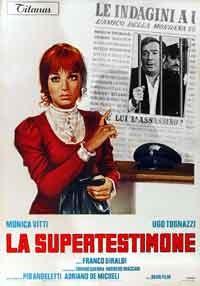 La copertina di La supertestimone (dvd)
